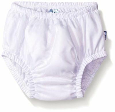 I Play. Baby Toddler Ultimate Reusable Snap Swim Diaper, New White, 3-6 months