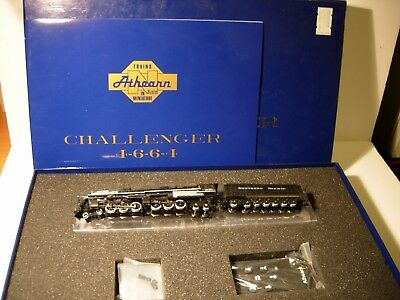 N Athearn DCC/Sound w/remote NP Northern Pacific Custom 4-6-6-4 Challenger #5136