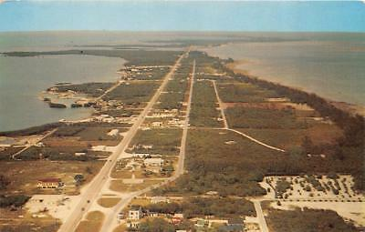 KEY WEST, FL Florida   ISLAMORADO KEY~Overseas Highway~HOMES   Aerial  Postcard