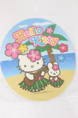 Large Rare Retired Oval Sanrio Hello Kitty Sticker/Decal-Hawaii Island-SO CUTE!