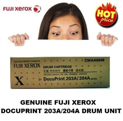 Genuine Fuji Xerox CWAA0648 Drum Unit For DocuPrint 203A & DocuPrint 204A