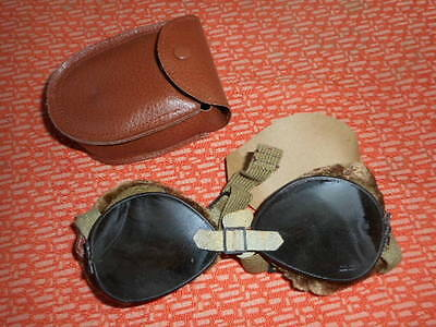 U.s.army* :  1942 -  10Th Mtn- Ski And Mountain Goggles - Wwii 1942 Militaria