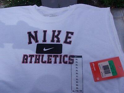Nike Original Athletics Vintage White Boys Collectible T-Shirts New W/tags Xlg
