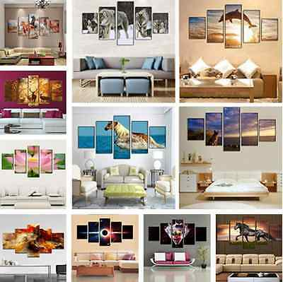 Art Oil Painting Picture Print No Frame Large Canvas Huge Modern Home Wall Decor