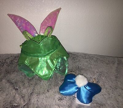 Tinkerbell Build A Bear Costume Disney Parks  Exclusive Dress And Bow Inc New