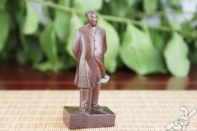 Hand Carved Agalwood Collectible Atique MAsian Cultures Figurine Wood Home Decor