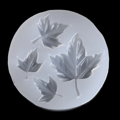 Silicone Maple Leaf DIY Mold Craft Mould Resin Necklace Jewelry Pendant Making