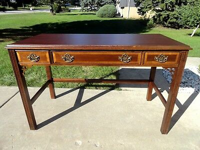 Vintage Fancher for Marriott Chippendale Writing Desk
