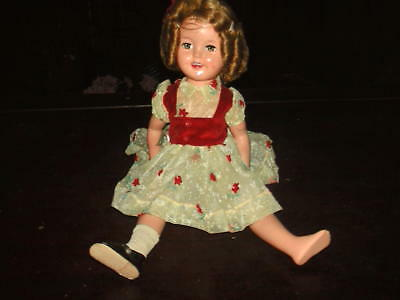 Vintage Shirley Temple Doll St-17-1 Ideal Doll Company