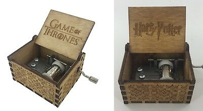 Harry Potter Music Box Game of Thrones Music Box For Christmas Gifts CAJA MUSICA