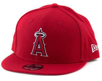 Los Angeles Angels New Era MLB 9Fifty Hat Genuine Baseball Cap In Red