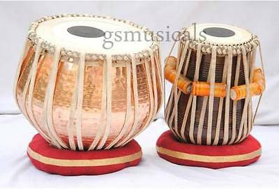 Tabla Drum Set Fine Quality Copper Hammered Bayan Professional Gsm051