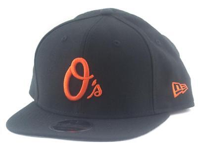 Baltimore Orioles New Era MLB 9Fifty Hat Genuine Baseball Cap In Black