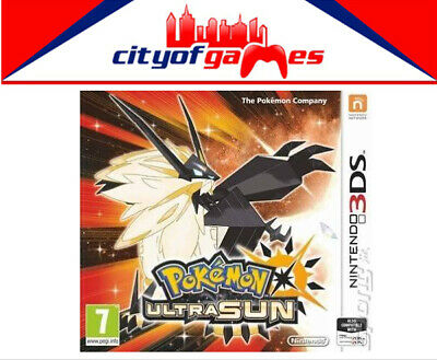 Pokemon Ultra Sun 3DS  New & Sealed Free Express Post In Stock