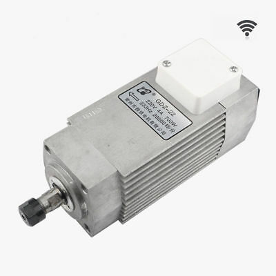 220V 700W Air-cooled Spindle Drive Motor Engraver Machine Spindle 4A 20000RPM