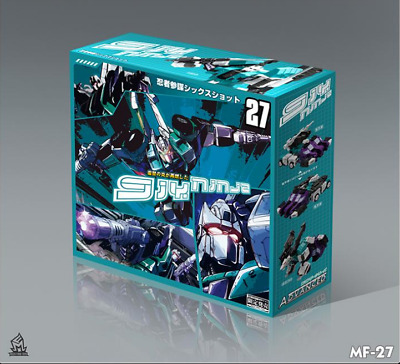 New Transformers MF-27 Sixshot DX9 STYLE OVERSIZED In stock MISB