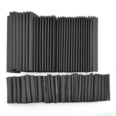 127Pcs Electrical Cable Heat Shrink Tube Tubing Wrap Wire Sleeve Assorted B