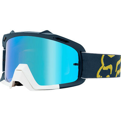 Fox Racing NEW Mx Air Space Preme Navy Red Kids Motocross Dirt Bike Goggles