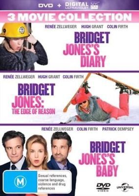 BRIDGET JONES'S DIARY TRILOGY 1,2, 3 MOVIES Ultraviolet (UV) Code ONLY NOT A DVD