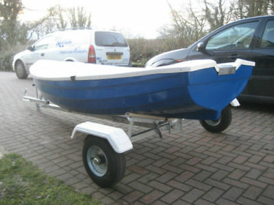 10ft Rowing Boat   10ft Fishing boat     10ft Tender    WITH TRAILER