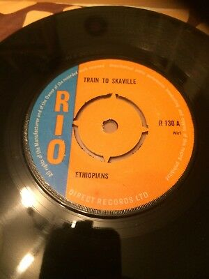 Ethiopians (The Train To Skaville 1967 Uk 45 Rpm)