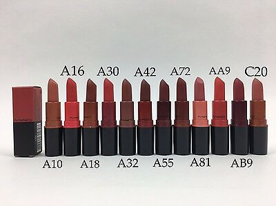 New Mac Retro Matte Lipstick Lip Color Choose Your Shade - HIGH QUALITY