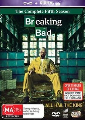 BREAKING BAD S5 SEASON 5 FIFTH SERIES Ultraviolet (UV) Code ONLY NOT A DVD