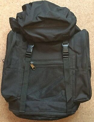 British Army 30 Litre Field Pack/day Sack.black.