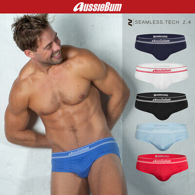 fa88b90b42 aussieBum Men's Underwear Seamless.Tech 2.4 Brief Underpants XS S M L XL XXL