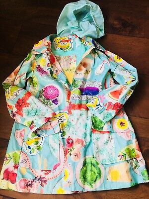 Oilily Lined Rain Jacket Perfect Condition Age 8yrs