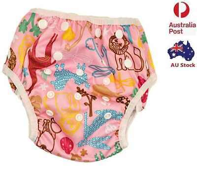 Reusable Baby Boy Boyish Swim Nappy Nappies Size 0-3 (No Liners Needed )(S134)