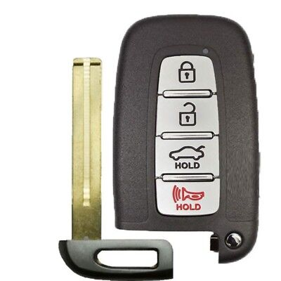 Brand New Replacement  Hyundai & Kia Smart Key 4 Button Hatch