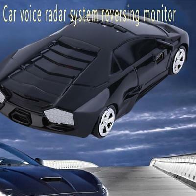 USB2.0 Car Speed Radar 360°Protection Detector Laser Detection Voice Alert Black