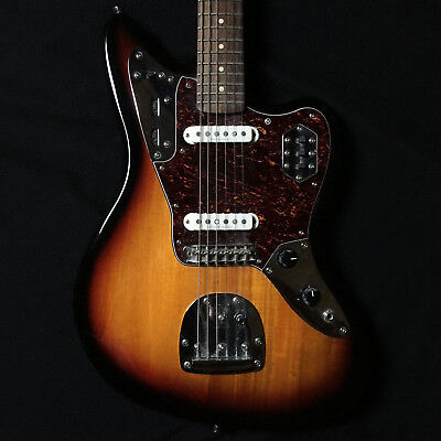Squier Fender Vintage Modified Jaguar Electric Guitar Sunburst