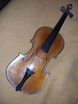 VIOLON ANCIEN entier - Antique old VIOLIN  4/4