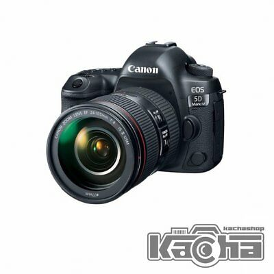 NEW Canon EOS 5D Mark IV DSLR Camera + EF 24-105mm f/4L IS II USM Lens