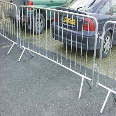 VFM Silver Crowd Control Barrier 1120x2470mm 329358 [SBY13395]