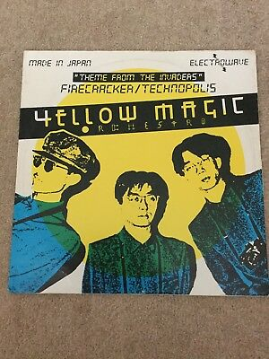 """Yellow Magic Orchestra, Computer Game Theme From The Invaders Vinyl 12""""Single"""