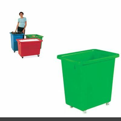 625X570X570mm Green Mobile Nesting Container 328233 [SBY12940]