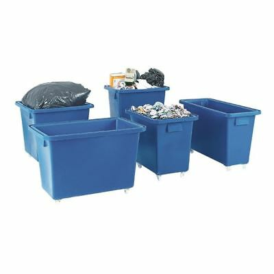 Bottle Skip 625X570X570mm 4X50mm Swivel Blue 328232 [SBY12939]