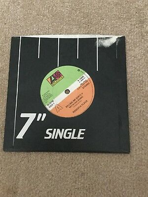"Roberta Flack, Killing Me Softly With His Song Vinyl 7"" Single"