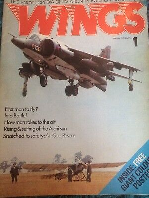 Wings Magazine very first issue volume 1 issue 1 vintage rare collectors item