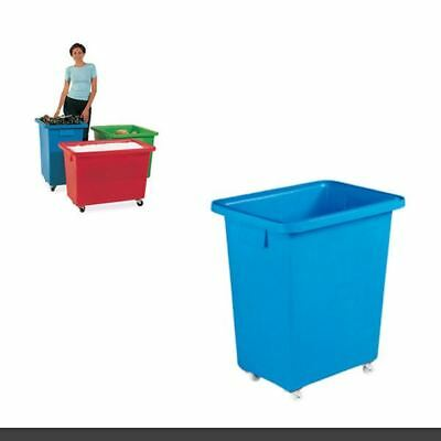 580X410X700mm Blue Mobile Nesting Container 328220 [SBY12933]