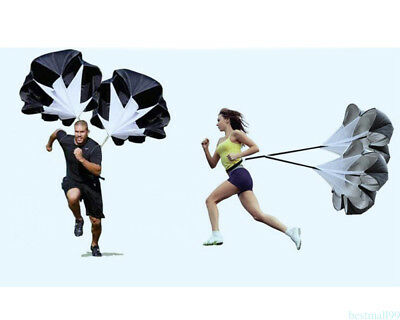 Black Speed Resistance Training Parachute Running Football Training Parachute m9