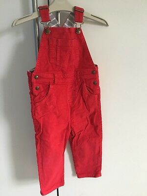 Baby Boden 2-3 Cord Dungarees