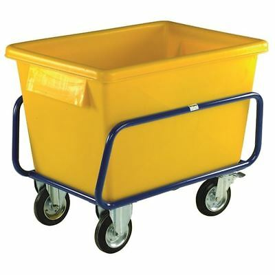 Plastic Container Truck 1040X700X860mm Yellow 326056 [SBY12032]