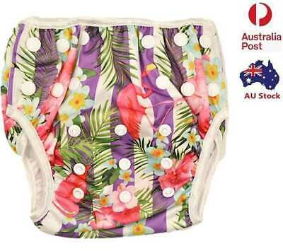 Reusable Swim Nappy Unisex Diapers Pants Nappies Swimmers Swimming Pant (S139)