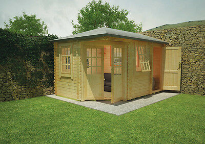 Shedrite's Victoria Log Cabin free delivery