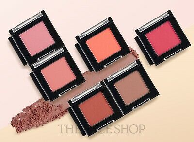 [THE FACE SHOP] Mono-cube Shadow ( Matte Type ) 1 7g / + Sample Gift