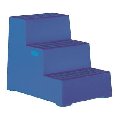 Plastic Safety Step 3 Step Blue 325098, 440x795x620mm  [SBY11642]